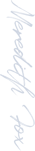 Meredith Fox signature